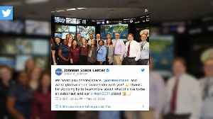 Ariana Grande spends 'coolest day of her life' at NASA Space Center [Video]
