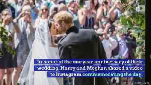 Prince Harry and Meghan Markle Share Unseen Wedding Day Photos [Video]