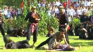 Cambodians re-enact genocidal horrors to remember those killed in Khmer Rouge regime [Video]