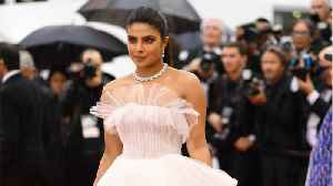 News video: Priyanka Chopra Wore A Ball Gown Fit For A Princess To Cannes