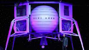 News video: Jeff Bezos unveils new 'Blue Moon' lunar lander