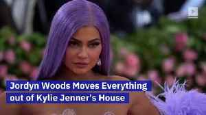Jordyn Woods Moves Everything out of Kylie Jenner's House [Video]