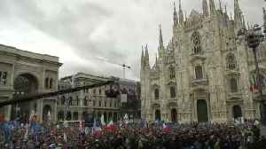 Italy's Salvini opens European far-right rally in Milan [Video]