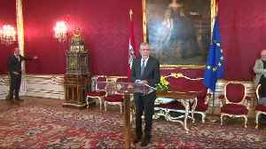 Austrian president says snap election needed to restore trust [Video]