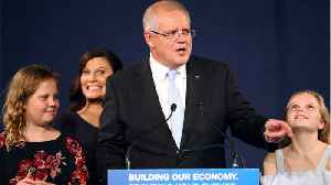 Australian PM Morrison celebrates unexpected election victory [Video]