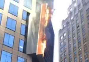 FDNY Responds to Fire on Times Square Billboard [Video]