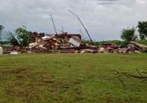 Suspected Tornado Leaves Trail of Destruction in Comanche County, Oklahoma [Video]