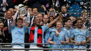 Manchester City wins 3rd English trophy this year [Video]
