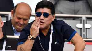 Maradona to Miss Cannes Film Premiere After Shoulder Injury [Video]