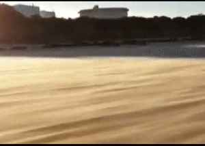Shifting Sands Make for Mesmeric Sight at West Australian Beach [Video]