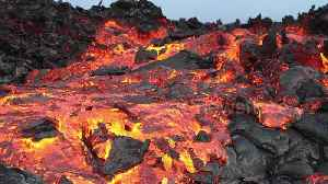 Mesmeric lava appears to flow in slow-motion on Hawaii mountain [Video]