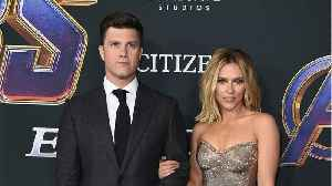 Scarlett Johansson And Colin Jost Are Engaged [Video]