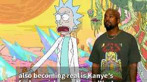 Fanboy Kanye West Offered 'Rick And Morty' Episode [Video]