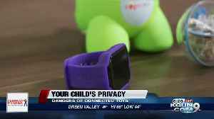 Consumer Reports: Your child's privacy with connected toys [Video]
