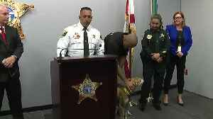 Press conference: Arrest made in case of dog with mouth taped shut [Video]