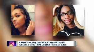 Safety fears grow after 3 women fatally shot on Detroit's east side [Video]