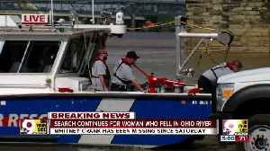Search continues for woman who fell in Ohio River [Video]