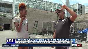 Towson women's track & field sending four to NCAA's [Video]
