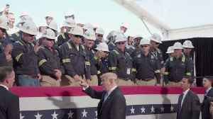 Trump Tours Sempra Energy Facility [Video]