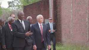 VP Pence Visits Mount Pleasant Baptist Church In Louisiana [Video]