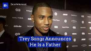 Trey Songz Is A New Dad [Video]