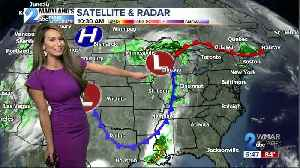 A cold front is on the move [Video]
