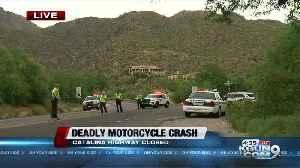 Deadly motorcycle crash on Catalina Highway [Video]