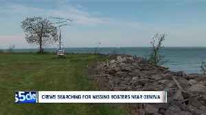 News video: Coast Guard searching for 2 missing boaters at Geneva State Park after boat overturns