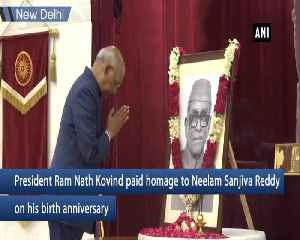 President Kovind pays tribute to Neelam Sanjiva Reddy [Video]