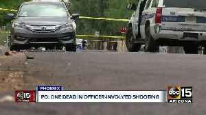 1 dead in officer-involved shooting near 16th and Portland streets [Video]