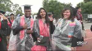 Rainy Weather Forces Cal State East Bay To Cancel, Delay Graduations [Video]