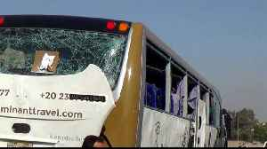 Tourists wounded in bus blast near Egypt's Giza Pyramids [Video]