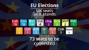 European elections: Which seats are up for grabs? [Video]