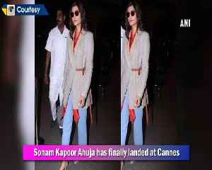 Sonam Kapoor reaches to Cannes with sister Rhea Kapoor [Video]