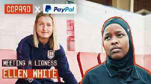 News video: From Refugee to Referee | When Lioness Ellen White met JJ