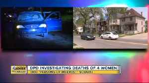 Detroit police investigating deaths of four women [Video]