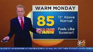 New York Weather: Temps Soar Into 80s [Video]