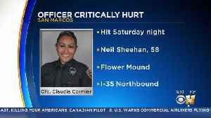San Marcos Officer In ICU After being Hit By Suspected Drunk Driver [Video]