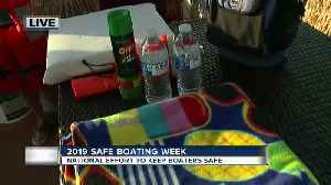 National boating safety week is underway: Tips to stay safe on the water - 7am live report [Video]