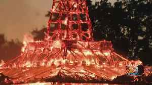 Temple Of Time Goes Up In Flames [Video]