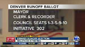 Ballots go in the mail today for Denver's runoff election [Video]