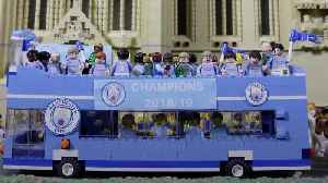 News video: Man City's trophy celebrations recreated in Lego