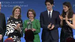 Pelosi receives JFK Profile in Courage Award [Video]