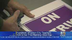 Hundreds Of Union City Teachers Striking Over Pay [Video]