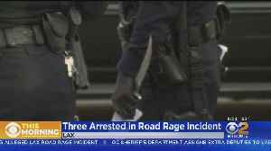 3, Including Enterprise Employee, Arrested After Road Rage Incident At LAX [Video]