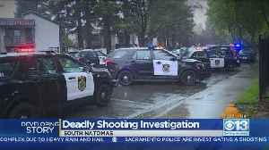 Search On For Suspects After Shooting Leaves 1 Dead, 1 Injured In South Natomas [Video]