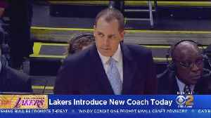 Lakers To Introduce New Head Coach Frank Vogel [Video]
