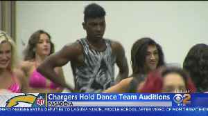 Chargers Open Cheer, Dance Tryouts To Men For First Time [Video]