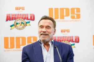 Arnold Schwarzenegger Dropkicked at Event in South Africa [Video]