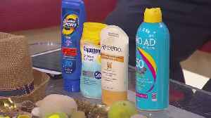 Sunscreen: How Do We Know What's Safe For Our Skin? [Video]